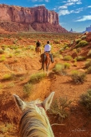 A Horse Ride Through Monument Valley