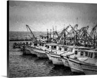 Shrimp Boats in Safe Harbor